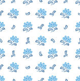 Seamless texture with floral ornament Royalty Free Stock Image