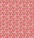 Seamless texture with floral ornament. Floral pattern seamless. Flower  motif on red background. Elegant wallpaper Royalty Free Stock Photo