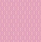 Seamless texture with floral ornament. Floral abstract pattern seamless. Vignette  motif on pink background. Elegant wallpaper Stock Photos