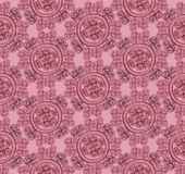 Seamless texture with floral ornament. Abstract geometric kaleidoscope seamless background. Ethnic seamless texture. Seamless pattern. Floral lightning ornament Stock Photos