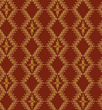 Seamless texture with floral ornamental lines Royalty Free Stock Images