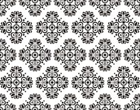 Seamless texture with floral pattern Royalty Free Stock Image