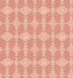 Seamless texture with floral theme Royalty Free Stock Image