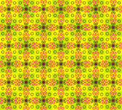 Seamless texture with flower pattern. On colored background Royalty Free Stock Photo