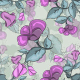 Seamless Texture Of Flowers Stock Photo