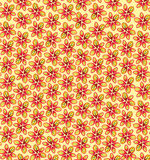 Seamless texture with flowers Stock Photos