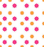 Seamless Texture with Flowers, Elegance Child Pattern Stock Images