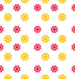 Seamless Texture with Flowers, Elegance Kid Pattern Royalty Free Stock Photo
