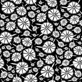 Seamless texture of the flowers Royalty Free Stock Images