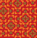 Seamless texture flowers in russian style Stock Photo