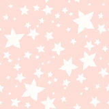 Seamless texture of flowers-stars. Endless cute romantic texture. Template for design and decoration backgrounds, package, covers Stock Photos