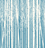 Seamless texture with forest of trees. Seamless vector texture with a picture of the forest of trees against the blue sky royalty free illustration