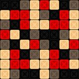 Seamless texture mosaic royalty free illustration