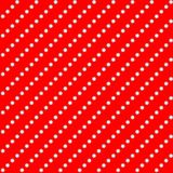 Seamless texture - pearls on a red background. Seamless texture in the form of pearls on a red background. Pearl thread diagonally Royalty Free Stock Photo
