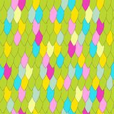 Seamless texture in the form of scales. Amimal skin Stock Illustration