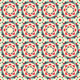 Seamless texture of geometric shapes. Arranged circles Royalty Free Stock Images