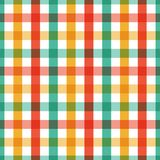 Seamless texture. Geometric vector yellow, green and red color checkered pattern Abstract background design for wallpaper polygrap. Hy, posters, t-shirts stock illustration