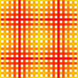 Seamless texture. Geometric vector yellow, orange and red color checkered pattern Abstract background design for wallpaper polygra. Phy, posters, t-shirts Stock Photography