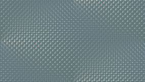 Seamless texture. Glass patterned translucent. 3D render vector illustration