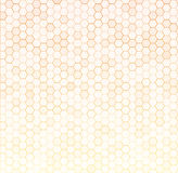 Seamless texture gray hex grid. Vector Illustration Stock Photos