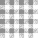 Seamless texture of gray plaid Royalty Free Stock Photos