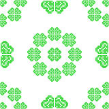 Seamless texture with green abstract patterns Royalty Free Stock Photos