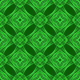 Seamless Texture on Green Background Stock Image