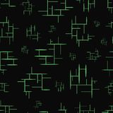 Seamless texture with green elements Stock Photos