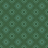 Seamless Texture on Green. Ornamental Backdrop. Stock Photos