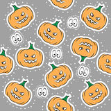 Seamless texture for Halloween Stock Photo