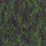 Seamless texture hanging down worn-out ripped rags cloth or paper. Seamless texture hanging down worn-out ripped rags green cloth or paper. Pattern of seaweed or royalty free stock photo