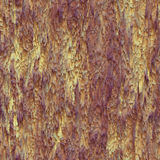 Seamless texture hanging down worn-out ripped rags cloth or paper. Seamless texture hanging down worn-out ripped rags yellow and purple cloth or paper. Pattern royalty free stock photos