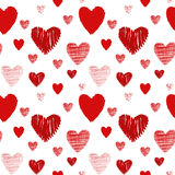 Seamless texture with heart Royalty Free Stock Photography