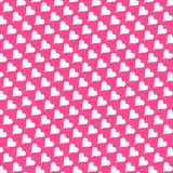 Seamless Texture - Hearts 8 Royalty Free Stock Images