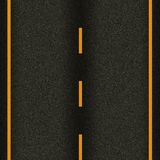 Seamless texture highway asphalt road Stock Photos