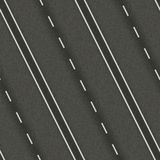 Seamless texture highway Stock Images