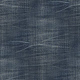 Seamless texture jeans. With small folds stock photo