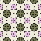 Seamless texture of kaleidoscope pattern Stock Photos
