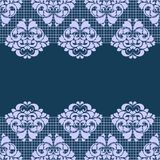 Seamless texture. Lace , pattern , dark background , bright patterns , vector illustration Royalty Free Stock Photography
