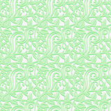 Seamless texture with leafs in the gentle shades of green. Royalty Free Stock Photography