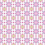 Seamless texture of light kaleidoscope pattern Royalty Free Stock Photography