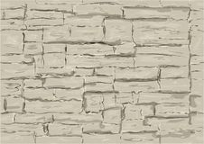 Seamless texture of light stone Stock Images