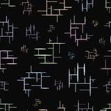 Seamless texture with lines Royalty Free Stock Images