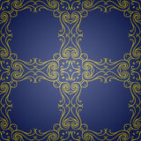 Seamless texture with luxury arabic ornament. Vector vintage pattern Royalty Free Stock Photography