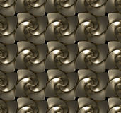 Seamless texture made of golden twirls. Seamless texture, background made of golden twirls vector illustration