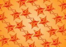 Seamless texture of maple leaves vector illustration