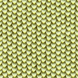 Seamless texture of metallic dragon scales. Reptile skin pattern Royalty Free Stock Photography
