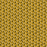Seamless texture of metallic dragon scales. Reptile skin pattern Stock Photos