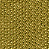 Seamless texture of metallic dragon scales. Reptile skin pattern Stock Photos