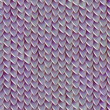 Seamless texture of metallic dragon scales. Reptile skin pattern Royalty Free Stock Images